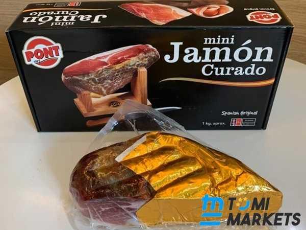 Đùi Heo Muối Mini Pont Jamon Curado có dễ ăn không?